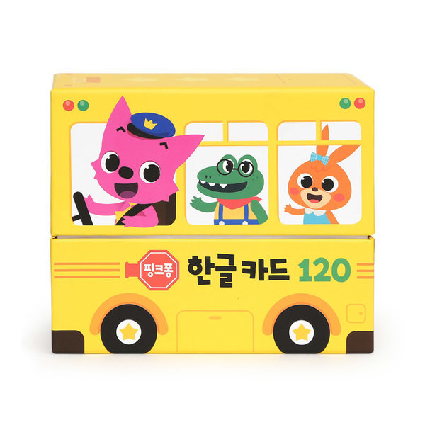 핑크퐁 한글카드 120 상품이미지