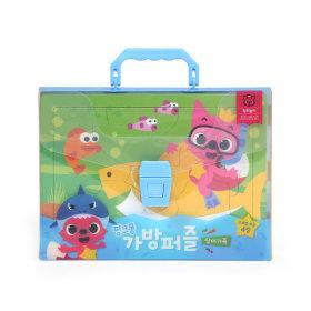 핑크퐁 가방퍼즐 상어가족