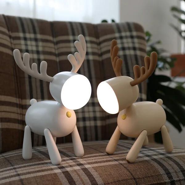 루돌프 LED 무드등 독서등 수유등 화이트 상품이미지
