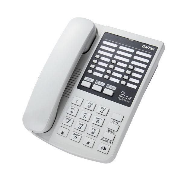 지엔텔GS-872 2라인국선 사무용전화기/단축메모리12개 상품이미지