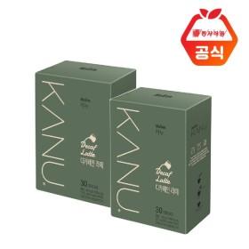 카누 라떼  디카페인 30T x2개입
