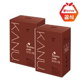 카누 라떼 티라미수 24T x2개입