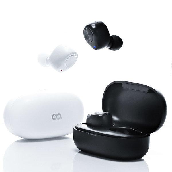 큐피B2 TWS 블루투스 완전 무선 이어폰 코드리스 블랙 상품이미지