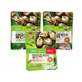 얇은피 고기/땡초 6봉 (고기4봉+땡초2봉)