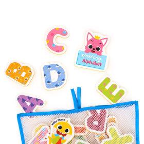 핑크퐁 목욕놀이 스티커 알파벳