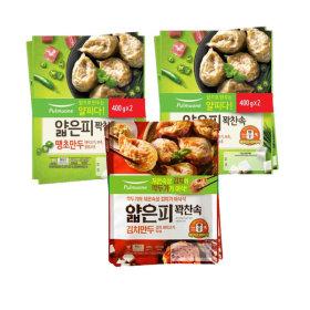 얇은피 땡초/김치 6봉 (땡초4봉+김치2봉)