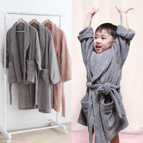 뽀송 샤워 목욕 호텔 가운 아동용/타올 면 100%