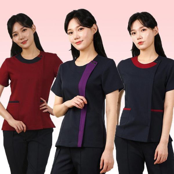 (붐유니폼) 간호복/간호사복/수술복 상의 상품이미지