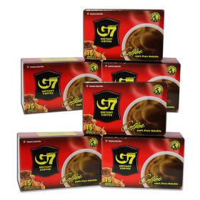 베트남 G7 커피/Pure Black 90개입/15Tx6box/블랙