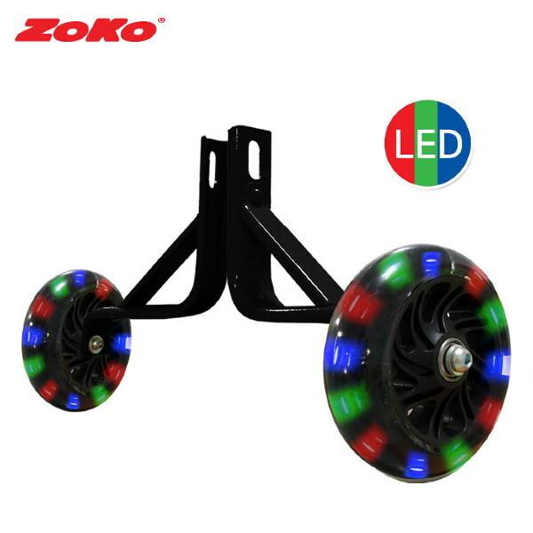 ZOKO 조코시리즈 엘이디 보조 바퀴 - (체인자전거전용) 상품이미지