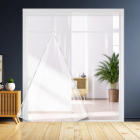 방풍비닐 베란다(특대) 450x250/커텐 커튼 바람막이