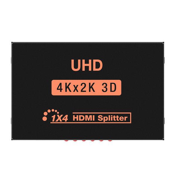 무배 NEXT-514SP4K 4K 고해상도 HDMI 4포트 분배기 상품이미지