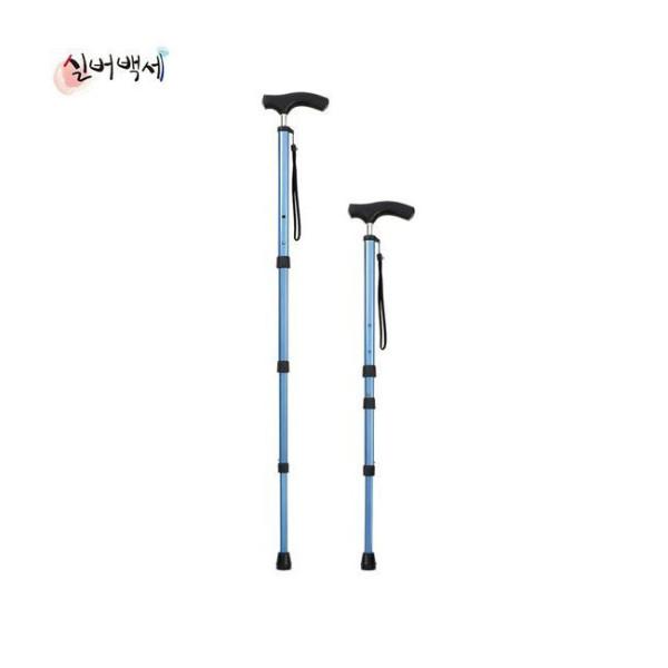 실버백세 DH-106 안테나 지팡이 노인 효도 선물 보행 상품이미지