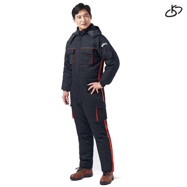 경신코리아 겨울작업복 일체형 정비복 방한복 낚시복 상품이미지
