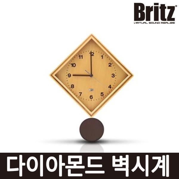 브리츠 BZ-C17P 다이아몬드 추타입 벽시계 -RC- 상품이미지