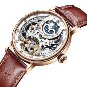 남자손목시계 오토매틱 명품 남성 선물 가죽시계 J055