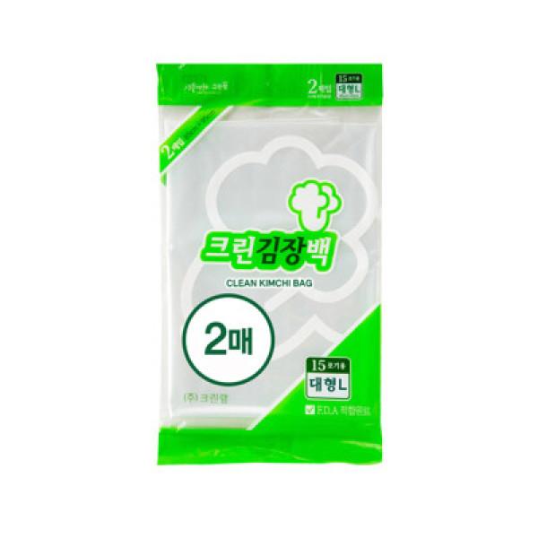 크린랩)김장봉투(대)2매 상품이미지