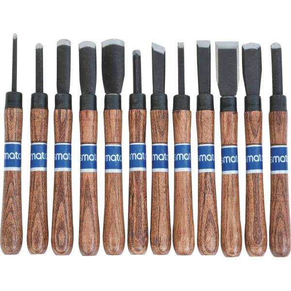 목공끌 조각도세트 SM-CK12P 상품이미지
