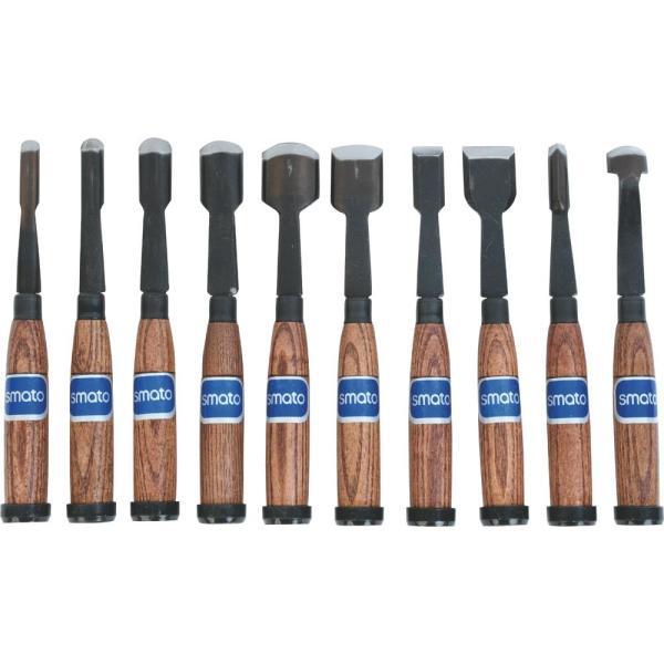 목공끌 조각도세트 SM-CS10P 상품이미지