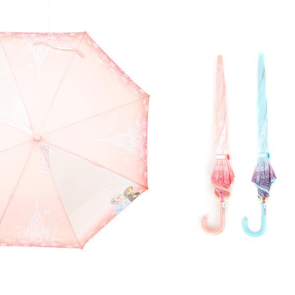 (현대Hmall) 오키즈 겨울왕국2 53 우산  캐슬 2폭POE-10017   M0680 상품이미지