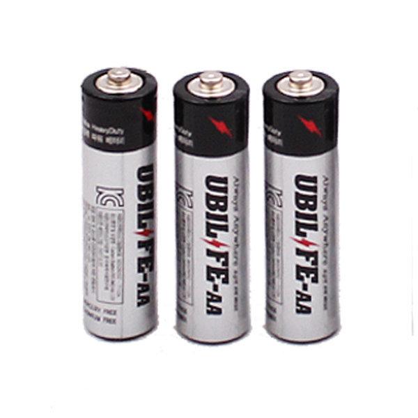 유비라이프 AA 건전지 1P 와이어 LED 용 배터리 상품이미지