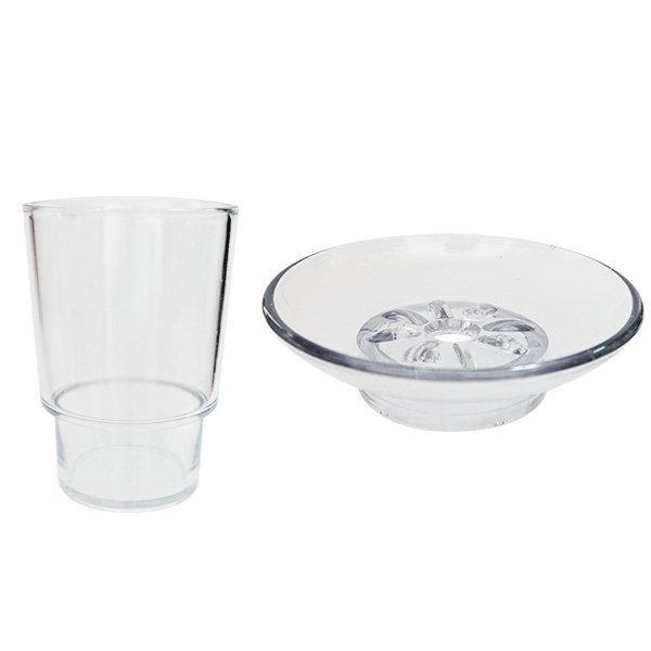 플라스틱 컵 비누 욕실악세사리 휴지걸이 상품이미지