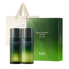 AHC 온리포맨 포어프레쉬 옴므 2종 세트 +쇼핑백