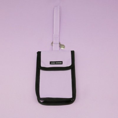 JEONG SEWOON STRAP POUCH