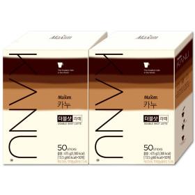카누 더블샷라떼 50T+50T/커피믹스 +뉴원터치보온병x2