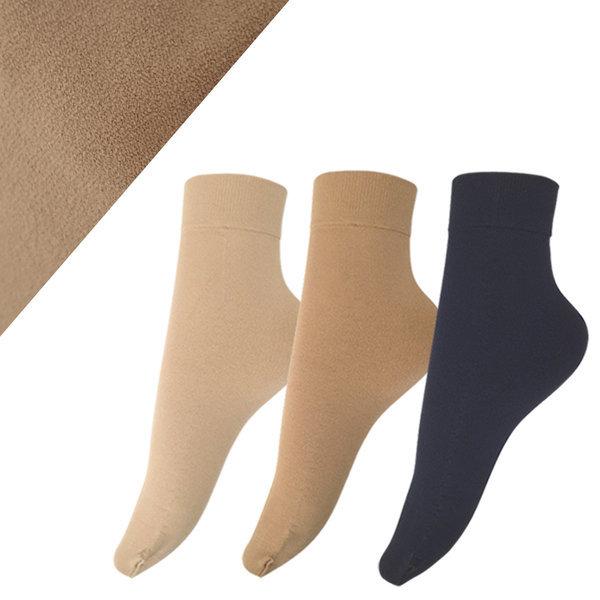 국산 W19 카사이 기모 발목 스타킹 양말 겨울 상품이미지