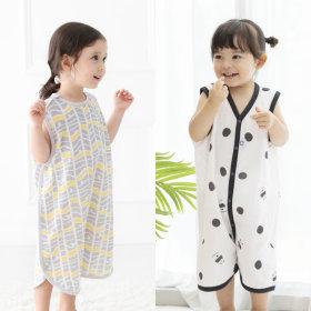 여름수면조끼 유아실내복 아기옷 유아여름잠옷