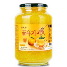 담터 꿀유자차A 2kg+전용포장/생강차/유자청 : 대용량~