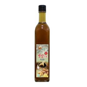 생강식초 500ml 흑초 천연발효식초 발효식초 천연식초