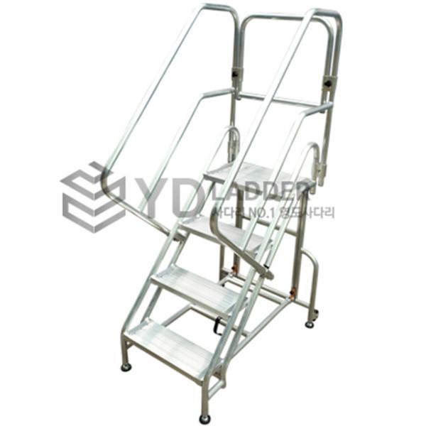 접이식 난간 계단 사다리 4단 (YDSCWS-04) 작업발판 상품이미지