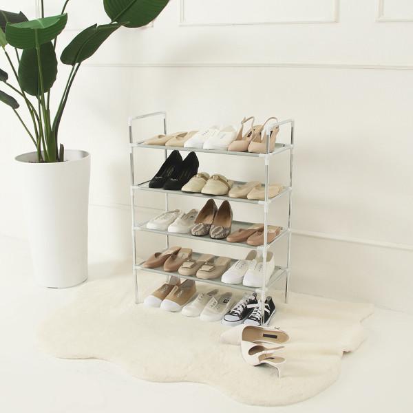 조립식 신발정리대 4단 신발장 최대15켤레 정리가능 상품이미지
