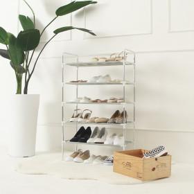 조립식 신발정리대 5단 신발장 최대 18켤레 정리가능