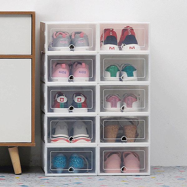 6P 투명 신발정리함 현관신발장 보관함 일반형 상품이미지