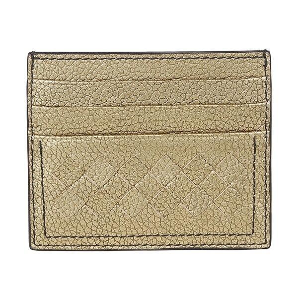 대구백화점 II관   보테가베네타(BOTTEGA VENETA) 인트레치아토메탈릭카드지갑/골드(16215019523-19SS) 상품이미지