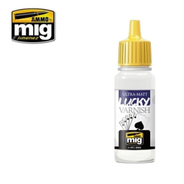 (현대Hmall) MIG AMMO 미그 아머 CG2054 ULTRA-MATT LUCKY VARNISH (17 mL) 상품이미지
