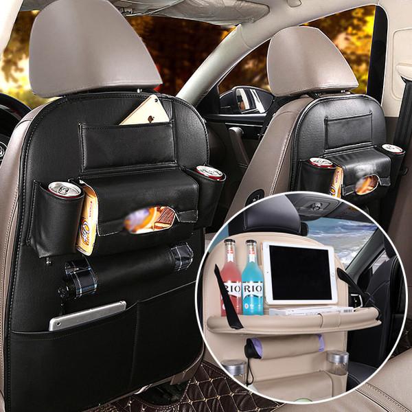 차량용 테이블 태블릿 거치대 뒷자리 수납포켓 컵홀더 상품이미지