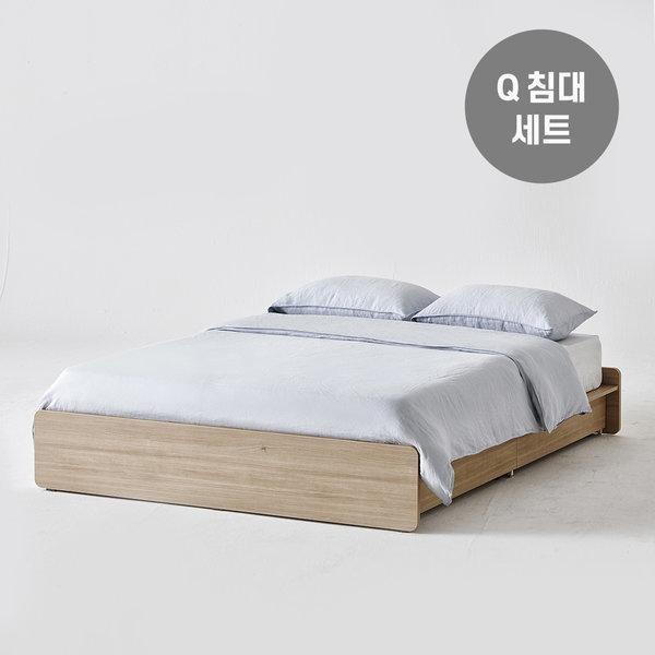 샘베딩 베이직 침대 Q+노뜨 매트 상품이미지