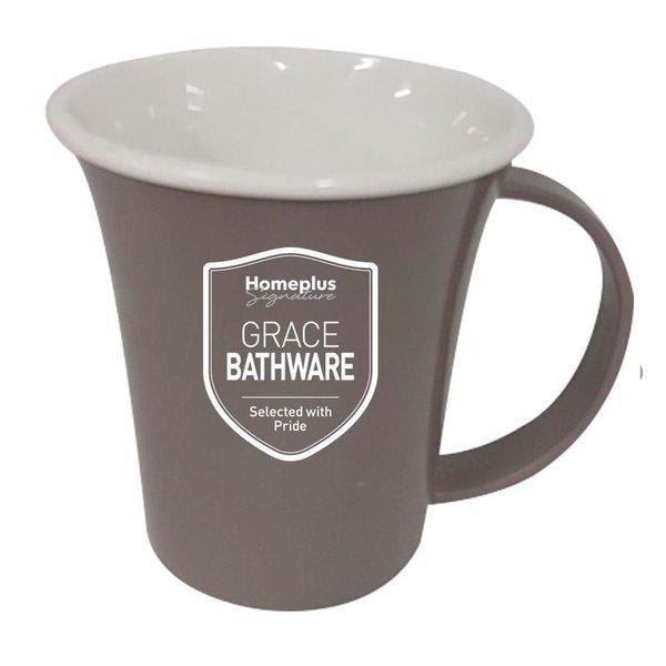 (행사상품)홈플러스시그니처 그레이스 컬러 투톤양치컵  대 애쉬브라운 상품이미지