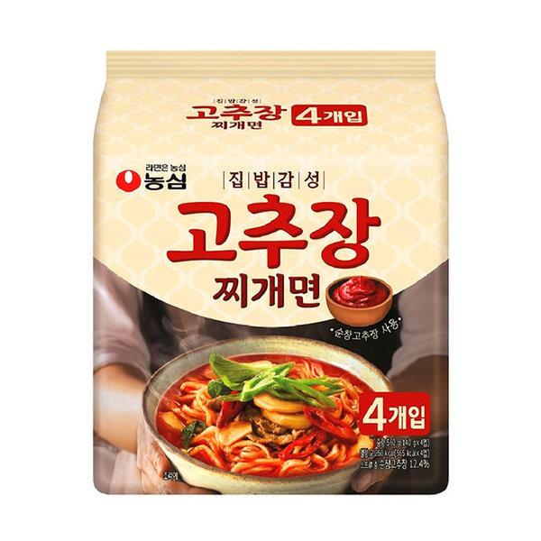 농심 집밥감성고추장찌개면 140Gx4입 상품이미지