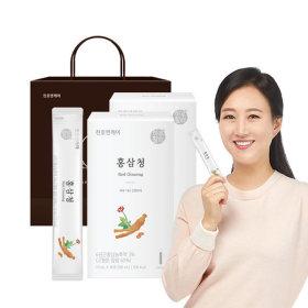 6년근 홍삼 홍삼청스틱 30포 홍삼농축액 1+1박스