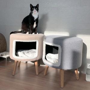 캣슬립 스툴 화장대의자 고양이하우스 숨숨집 냥이꿀템