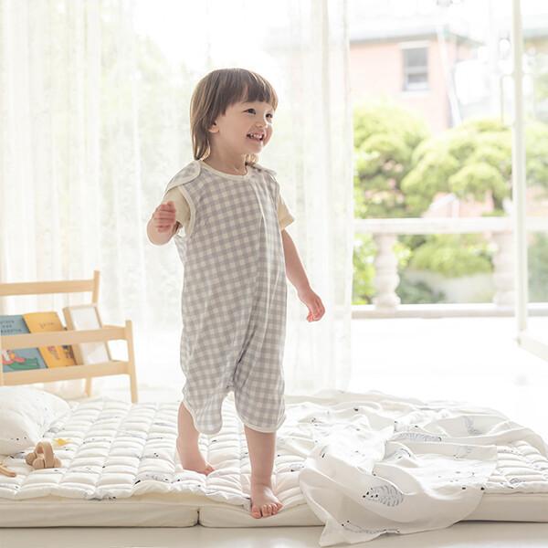 (현대Hmall) 비비엔다  아기 인견 여름수면조끼 모음 - 2가지 사이즈 상품이미지