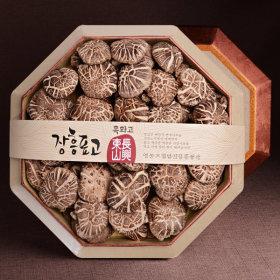 장흥 표고버섯 흑화고 팔각세트 400g