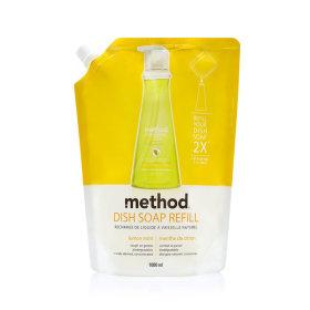 메소드 주방세제 레몬민트 리필 1000ml 2개