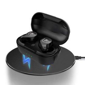 10-hour Playback Bluetooth Earphone PISnet FreeGo L Wireless Charging