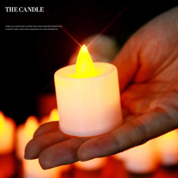 감동 전자초1개 이벤트초 고백 크리스마스 양초 촛불 상품이미지